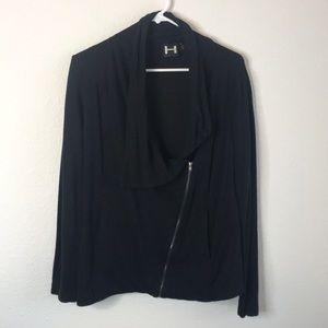 H by Bordeaux Asymmetrical Jacket